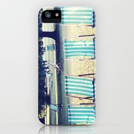 Hyde Park Chairs iPhone Case