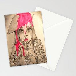 Oriental Lollipop Stationery Cards