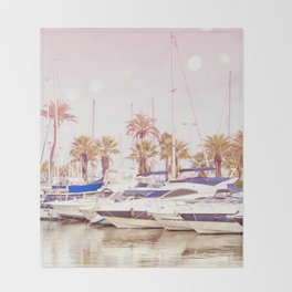 Sweet Dreams Are Made Of This - Beautiful Marina Throw Blanket