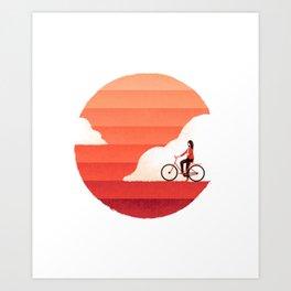 Sunshine Ride Art Print