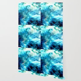 Ocean Blues Nebula galaxy Wallpaper
