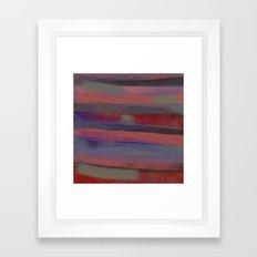 Flag of Mine Framed Art Print