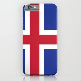 Iceland flag emblem iPhone Case