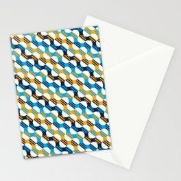 People's Flag of Milwaukee Mod Pattern Stationery Cards