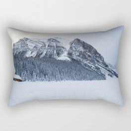 Snowy Mountain Rectangular Pillow