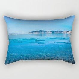 The Angara river Rectangular Pillow