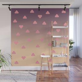 heart pattern Wall Mural