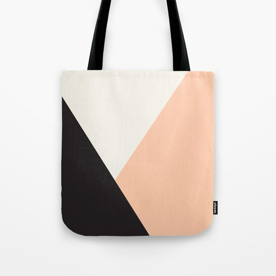 Getting Blocky Dark Tote Bag