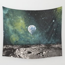 FLOATING THROUGH SPACE Wall Tapestry