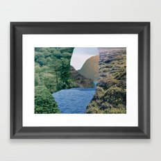 How We Got Back There Framed Art Print