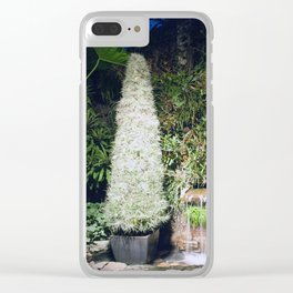 Longwood Gardens Christmas Series 28 Clear iPhone Case