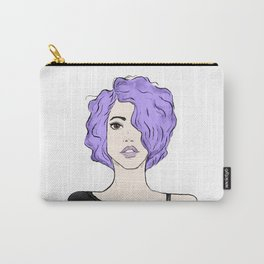 Lavender Girl Carry-All Pouch
