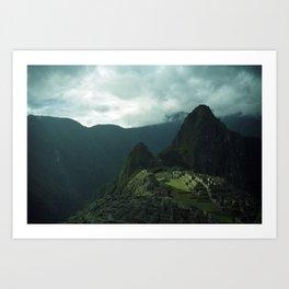 Machu Picchu NO3 Art Print