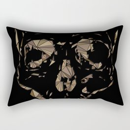 Lady Day Homage (Multifaceted Billie Holiday) Rectangular Pillow