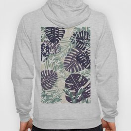 Mint and Monstera Hoody