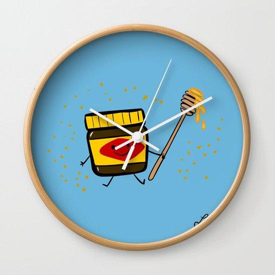 Vegemite Honey Wall Clock