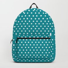 Dots & Teal Backpack