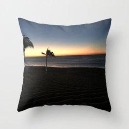 Cabo memory Throw Pillow