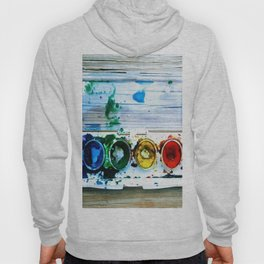 forrest's paint Hoody