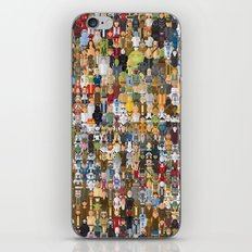 StarWars Characters Megaposters iPhone & iPod Skin