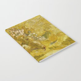 Quinces, Lemons, Pears and Grapes by Vincent van Gogh Notebook