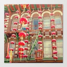 Chinatown III (San Francisco) Canvas Print
