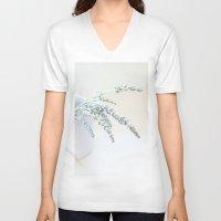 lavender V-neck T-shirts featuring Lavender by secretgardenphotography [Nicola]