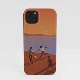 Dreaming the World Cup iPhone Case