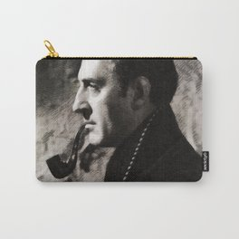 Basil Rathbone as Sherlock Holmes Carry-All Pouch