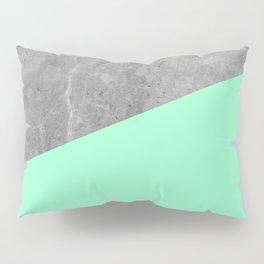 Geometry 101 Mint Meringue Pillow Sham