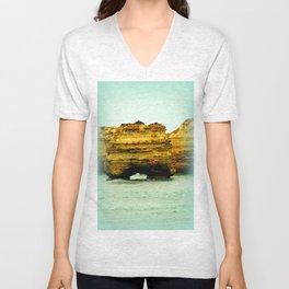 Gigantic Limestone Cliffs Unisex V-Neck