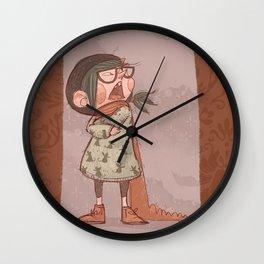 Maus winter Wall Clock