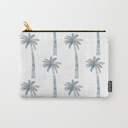 Watercolor Palm Tree Pattern Carry-All Pouch
