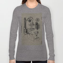 Revolving Fire Arm-1875 Long Sleeve T-shirt