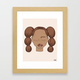 TEE Framed Art Print