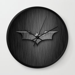 Bat in The Shadow Wall Clock
