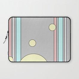 Bubble Stripe Curtains Laptop Sleeve