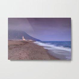 Salinas Beach At Sunset. Metal Print