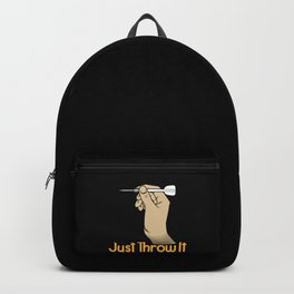 Just throw it! - Gift Backpack