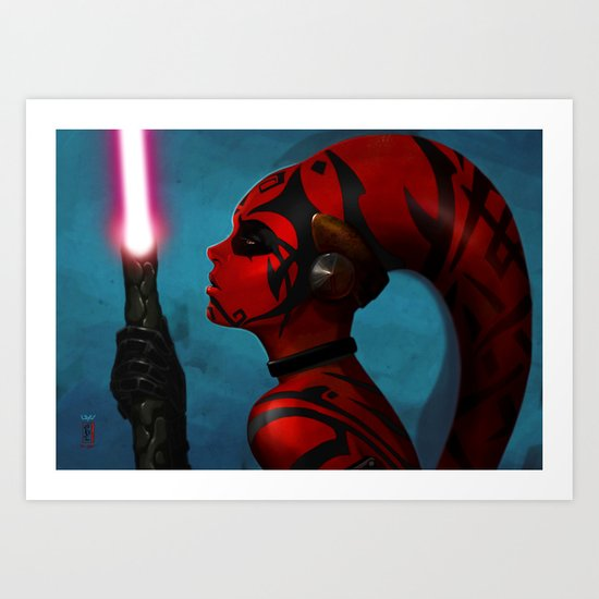 DARTH TALON Art Print