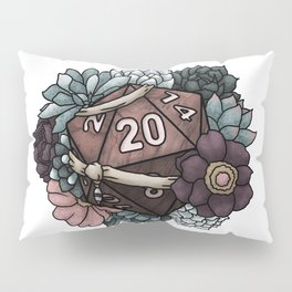 Monk Class D20 - Tabletop Gaming Dice Pillow Sham