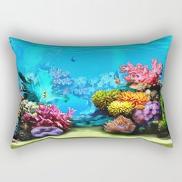 Marine Life Rectangular Pillow