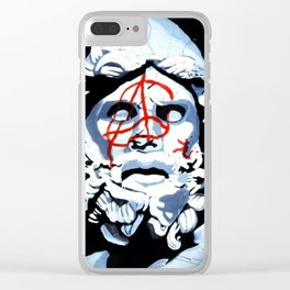 Tyrant Anarchy by Hard Grafixs© Clear iPhone Case
