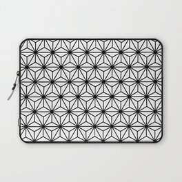 Geometric Flowers and Florals Isosceles Triangle Laptop Sleeve