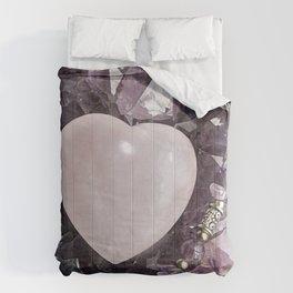 Crystal Heart Comforters