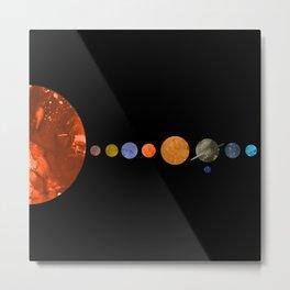 Interplanetary Metal Print
