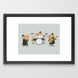 Jazz Trio Framed Art Print