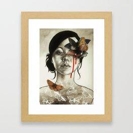 Contamination Framed Art Print