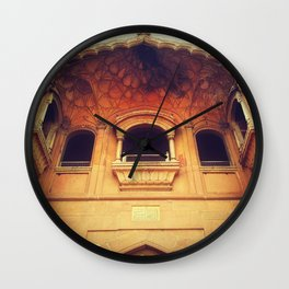 Ancient windows to other dimensions Wall Clock