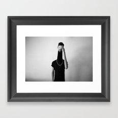 Elegant Dummy Framed Art Print